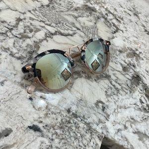 Krewe St. Louis mirrored sunglasses